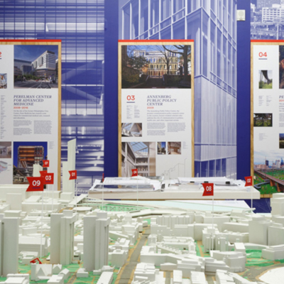 Transformation by design exhibition center for architecture upenn fres